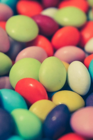 Smarties Mobile Wallpaper