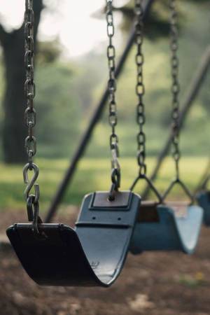 Swing Playground Recess School Mobile Wallpaper