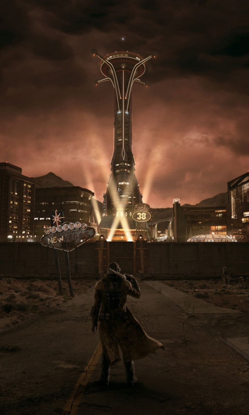 fallout new vegas mobile wallpaper - mobiles wall