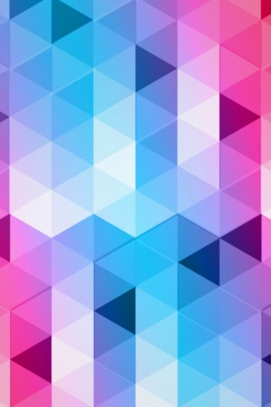 Triangles Design Mobile Wallpaper