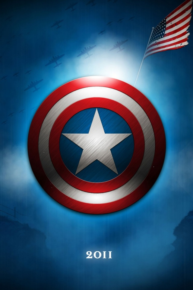 Captain America The First Avenger Mobile Wallpaper Mobiles Wall