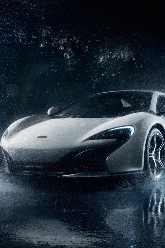 Mclaren Supercar White Mobile Wallpaper Mobiles Wall