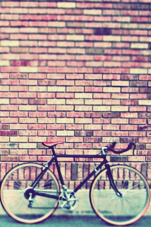 Vintage Bike Mobile Wallpaper