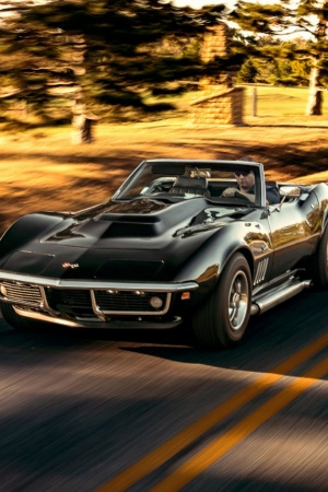 chevrolet corvette stingray Mobile Wallpaper