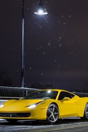 ferrari 458 Mobile Wallpaper