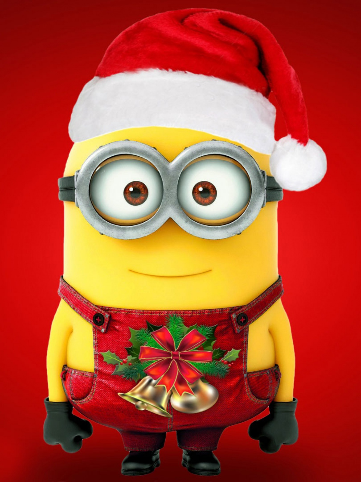 merry christmas minions mobile wallpaper - mobiles wall