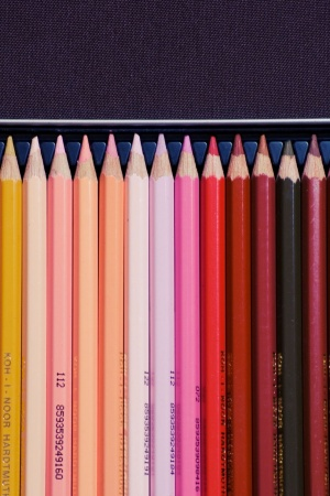 Colors Crayons Colored Pencils Mobile Wallpaper