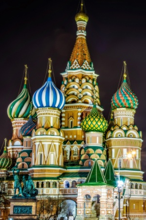 Saint Basil's Cathedral, Moscow, Russia Mobile Wallpaper