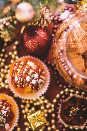 Food Sweet Cookies Christmas Mobile Wallpaper