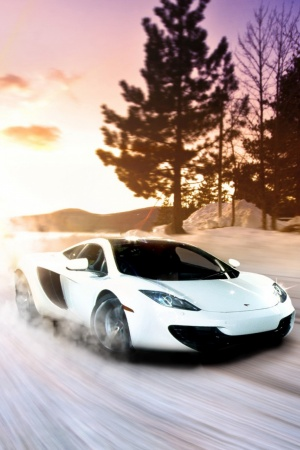 mclaren mp4 12c Mobile Wallpaper