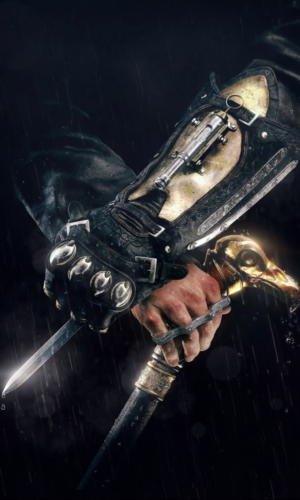 Assassins Creed Syndicate Hidden Blade Mobile Wallpaper Mobiles Wall